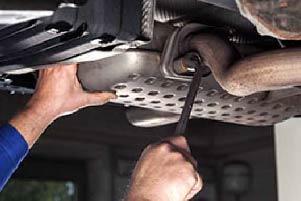vehicle maintenance, muffler