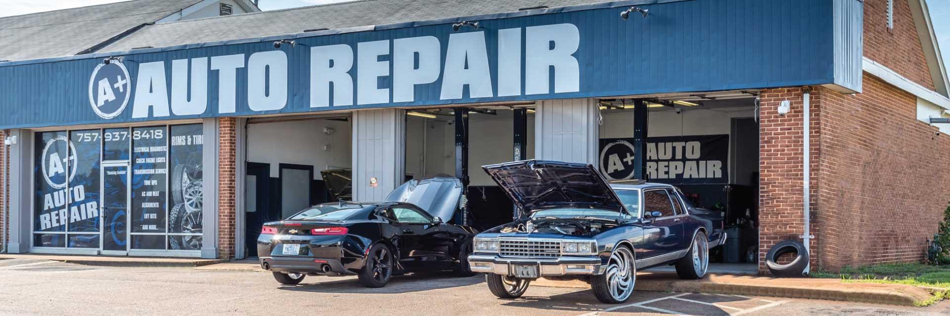 a+ auto repair virginia beach